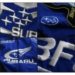 Jaqueta Azul e Preta Subaru World Rally - Cod 0319