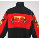 Jaqueta Preta e Vermelha Ferrari - Cod 0322