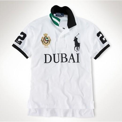 Camisa Polo Branca Dubai Big Pony RL 1319-EL