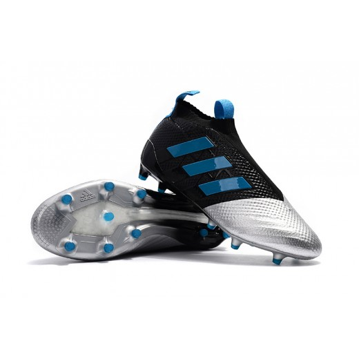 Adidas ACE 17+ PureControl FG Cores Preto, Metálico e Azul