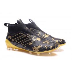 Adidas ACE 17+ Purecontrol FG cor Preto Amarelo Paul Bogba ce599fe698b2d