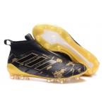 Adidas ACE 17+ Purecontrol FG cor Preto Amarelo Paul Bogba