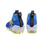 Adidas ACE 17+ Purecontrol FG Dragon cor Azul com faixa Amarela
