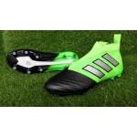 Adidas ACE 17+ PureControl FG Cores Verde e Preto