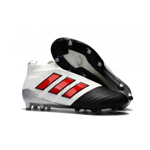 70312b3708 Adidas ACE 17+ PureControl FG Cores Branco e Preto