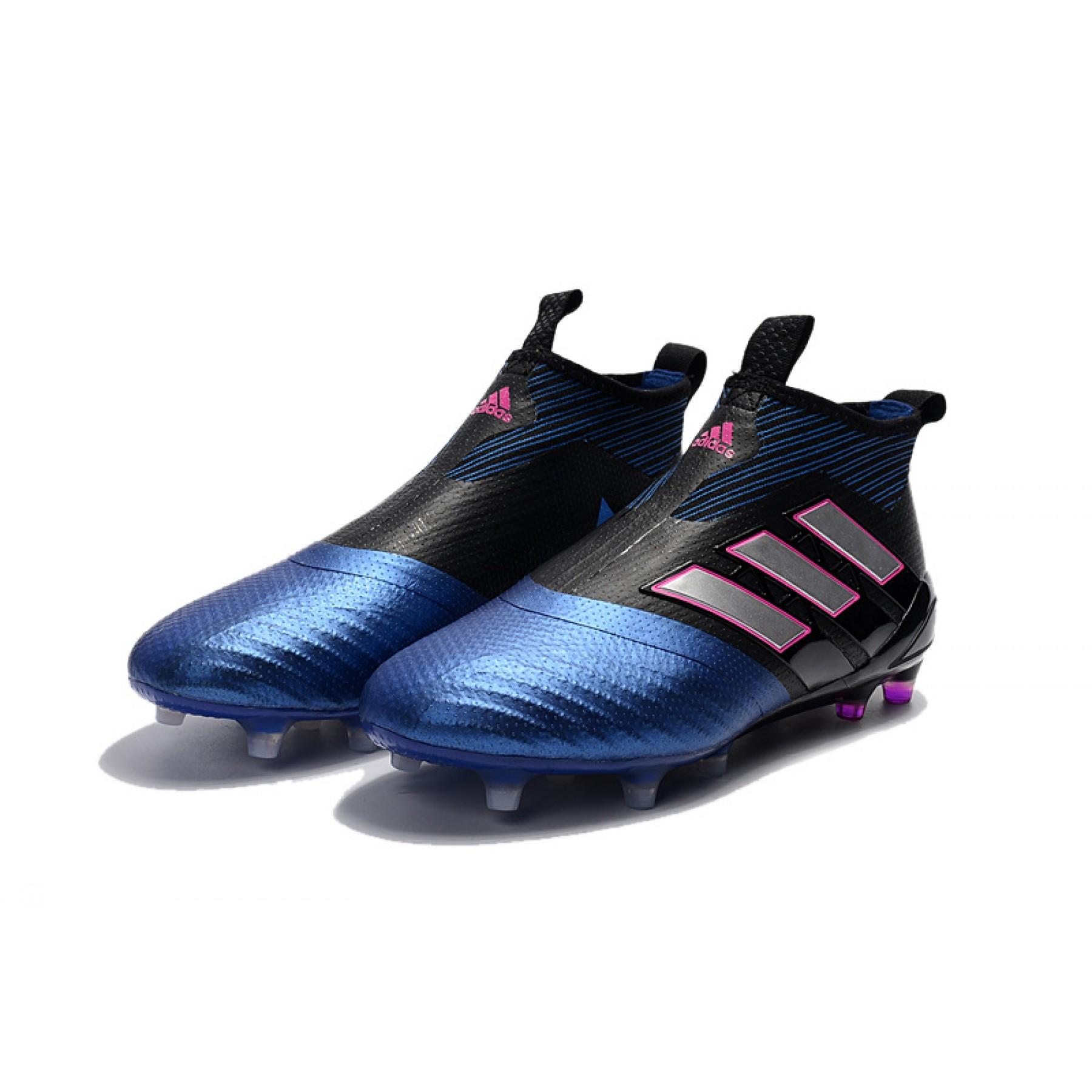 e2b129b213 Adidas ACE 17+ PureControl FG Cores Azul e Preto