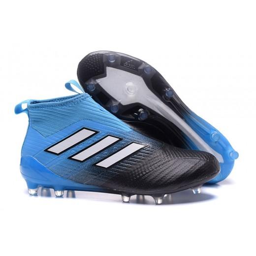 low priced 87ca7 22bb7 ... cheap adidas ace 17 purecontrol fg cores azul e preto 7c50f 288ab