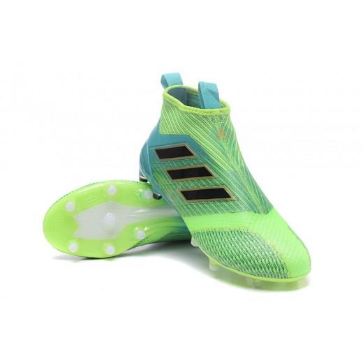 Adidas ACE 17+ Purecontrol FG Dragon cor Verde