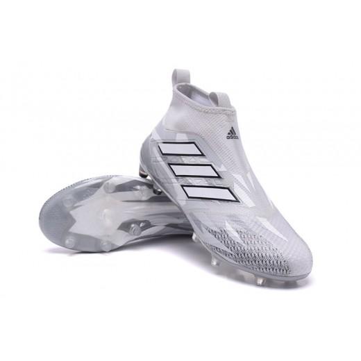 Adidas ACE 17+ Purecontrol FG Dragon cor Branco Camuflado