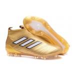 Adidas ACE 17+ Purecontrol FG Dragon cor Amarelo Dourado