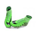 Chuteira Nike Hypervenom Phantom II FG  cor verde e preto 1031