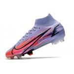 Chuteira Nike Mercurial Superfly IV CR7 FG C Cinza e Preto1033