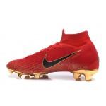 Chuteira Nike Mercurial Superfly IV FG ACC Vermelho e Azuk Violeta 1034