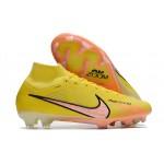 Chuteira Nike Mercurial Superfly FG com ACC  cor Amarelo Fluorescente 1027