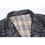 Jaqueta Social de Couro Pu Masculino e importado estilo quadriculada