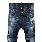 Calça Jeans Dsquared2 Masculino estilo Skinny  0494-EL