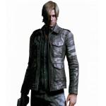 Jaqueta de Couro Pu Masculino e importado tipo Resident Evil 6 Cod 0588