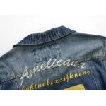 Jaqueta jeans lavado modelo 2015 material denin Cod 0633
