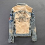 Jaqueta Jeans Vintage Retro Importado Cod 0408
