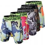 Shorts masculino camuflado para prática de esportes radicais Cod 0679
