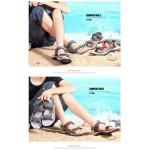 Sandálias Masculino de Couro alta qualidade para uso diário 0812