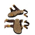 Sandálias Masculino Couro Legítimo marca Camel 0811