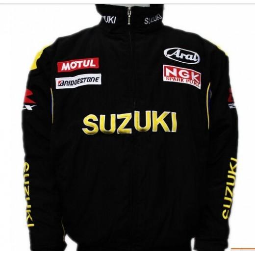 Jaqueta Suzuki Racing cor Preta Cod 0625