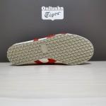 Tênis Asics Unissex Onitsuka Tiger Mexico 66 Cores Branco cinza e vermelho 1311-EL