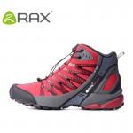 Tênis de caminhada couro cano longo marca Rax antiderrapante prova dgua 0771