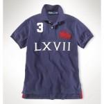 Camisa Polo Azul Escuro Dual Match Ralph Lauren - Cod 0027