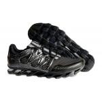 Tênis Masculino Adidas SpringBlade Pro 6 Cor Preto Prateado Cod 0856