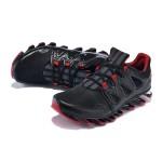 Tênis Masculino Adidas SpringBlade Pro 6 Cor Preto e Vermelho Cod 0857