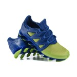 Tênis Masculino Adidas SpringBlade Pro 6 Cor Azul | Verde limão Cod 0858