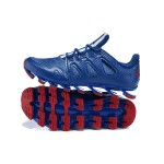 Tênis Masculino Adidas SpringBlade Pro 6 Cor Azul / Listra Branca 0861
