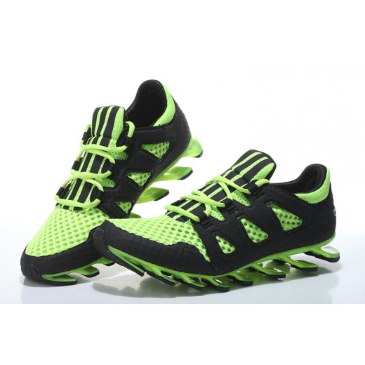 Tênis Masculino Adidas SpringBlade Pro 6 Cor Preto / Verde Claro 0862