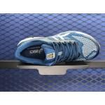 Tênis asics gel Kayano 26 Masculino cores Azul com detalhes Branco e Amarelo 1295EL