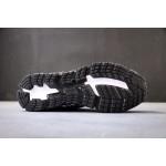 Tenis Asics Gel modelo Masculino cores Preto com detalhes Branco 1284-EL