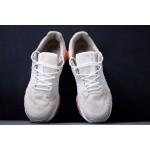 Tenis Asics Gel modelo Masculino cores Caramelo e Laranja com detalhes Branco 1283-EL