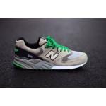 Tênis New Balance NB 999 Masculino e Feminino Cor Cinza Preto Detalhes Verde