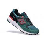 Tênis New Balance NB 999 Masculino Cor Verde Com Detalhes em Branco Vermelho e Preto