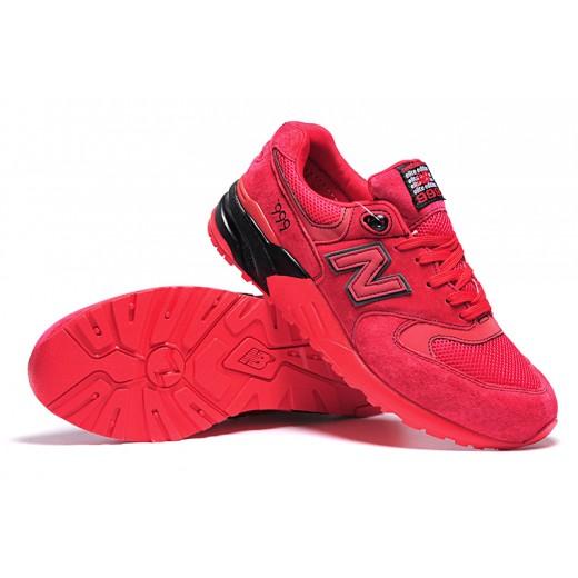 Tênis New Balance NB 999 Masculino e Feminino Cor Vermelho com detalhes Preto