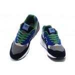 Tênis New Balance NB 999 Elite Edition Masculino e Feminino Cor Azul com Detalhes Preto e Verde