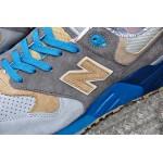 Tênis New Balance NB 999 Masculino e Feminino Cor Cinza Claro com Detalhe Azul Celeste