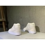 Tenis cano longo Nike modelo Sb zoom Blazer unissex cor Beije com detalhes branco 1302-EL
