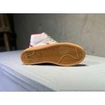 Tenis cano longo Nike modelo Sb zoom Blazer unissex cor beije com detalhes vermelho 1308EL