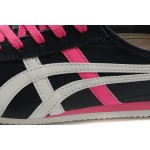 Tênis Feminino Asics Onitsuka Tiger Mexico 66 cores Preto Rosa e Branco 1178-EL