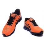 Tênis asics gel quantum 360 masculino cor laranja preto e azul