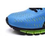 Tênis asics gel quantum 360 masculino cor azul claro, preto e verde