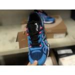 Tênis asics gel quantum 360 masculino cor Azul com detalhes em vermelho  1292-EL