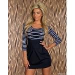 Vestido Feminino Printado em Polyester e Algodão Cod 0437